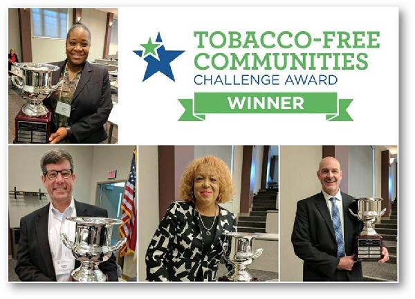 Tobacco Free Communities Challenda Award Winners