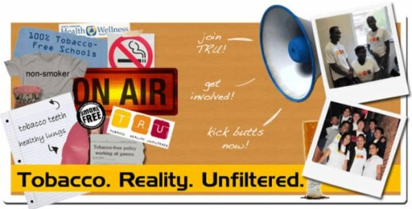 Tobacco Reality Unfiltered Logo